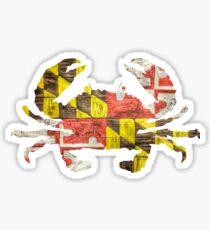 Pegatina Cangrejo de Maryland