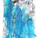 Modern Abstract Art - Blue Essence - Sharon Cummings by Sharon Cummings