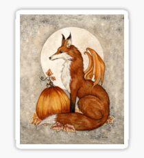 Fox Moon Sticker