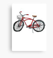 Vintage Pedal Power Canvas Print