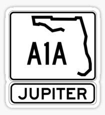 A1A - Jupiter Sticker