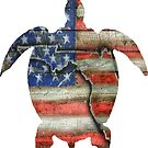 USA Sea Turtle by Statepallets