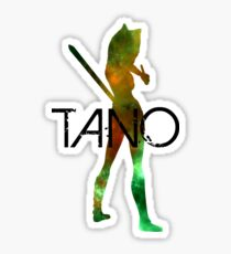 Ahsoka Tano Galaxy Sticker
