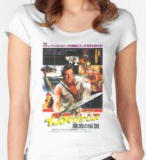 Indiana Jones Temple of Doom Women's Fitted Scoop T-Shirt