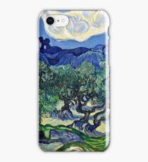 Vincent Van Gogh -  Olive Trees, 1889  iPhone Case/Skin