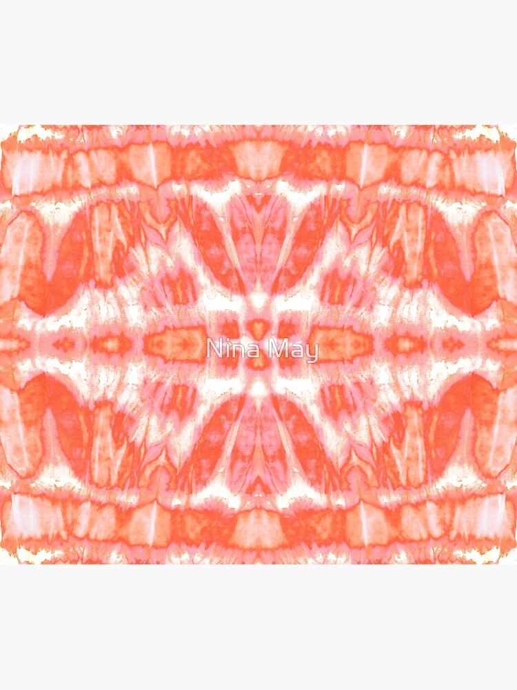 Tie Dye Tangerine Twos by ninabmay