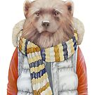 Winter Wolverine by AnimalCrew
