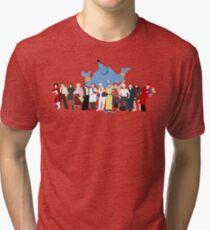 KEIN HINTERGRUND Noch minimalistischer Robin Williams Character Tribute Vintage T-Shirt