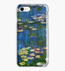 Claude Monet - Water Lilies (1916)  iPhone Case/Skin