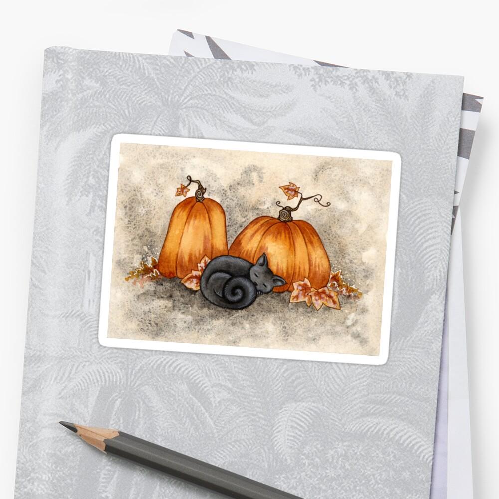 Pumpkin Nap Sticker