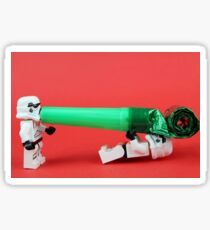 Lego Storm trooper birthday surprise Sticker