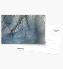 Miss Dandelions Cousin In Blue Postcards