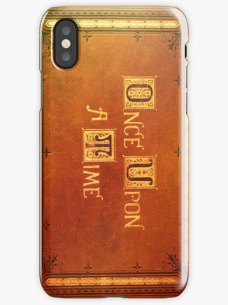 Quot Once Upon A Time Colorful Book Cover Quot Iphone Cases