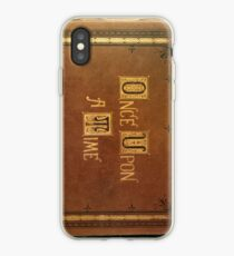 Once Upon A Time - Large Text Cover iPhone Case