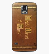 Once Upon A Time - Large Text Cover Case/Skin for Samsung Galaxy