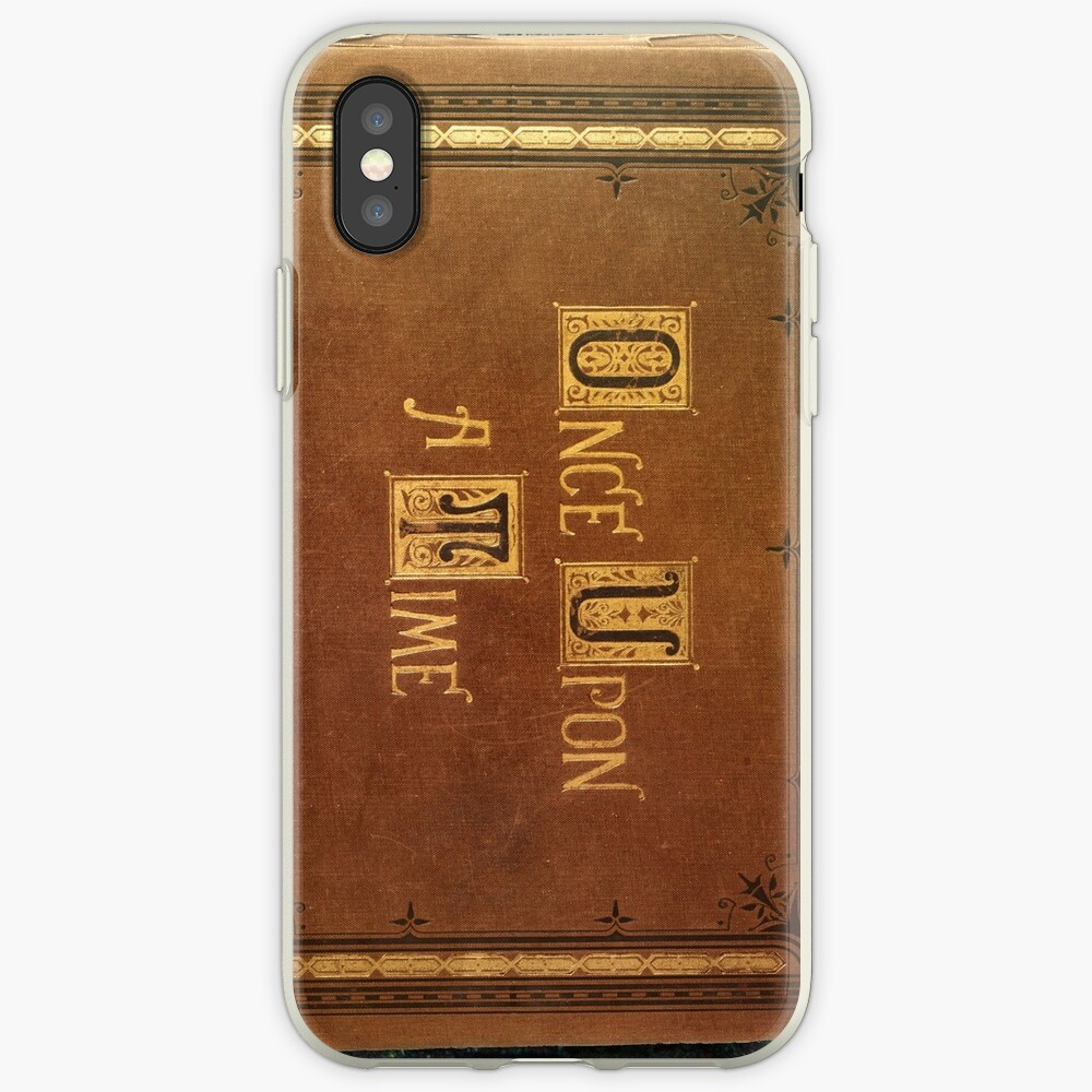 Once Upon A Time - Large Text Cover iPhone Case & Cover