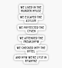 The Lost Colony. Sticker