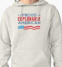 Proud Deplorable American (Trump 2016) Pullover Hoodie