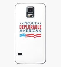 Proud Deplorable American (Trump 2016) Case/Skin for Samsung Galaxy