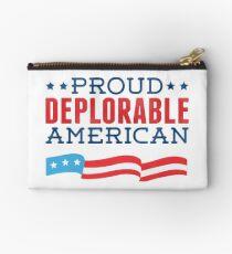 Proud Deplorable American (Trump 2016) Studio Pouch