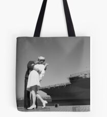 Acclaimed Kiss Tote Bag