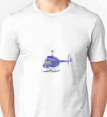 Big City Vehicles - Lion Pilot Flying Helicopter  T-Shirt