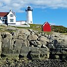 The Nubble Lighthouse - York, ME by Bine