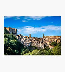 Sunrise in Sorano Photographic Print