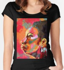 Keeper of The Flame - Nina Simone Women's Fitted Scoop T-Shirt
