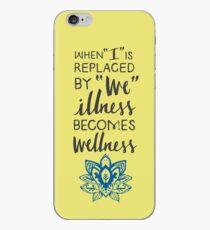 Wellness iPhone Case