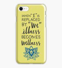 Wellness iPhone Case/Skin