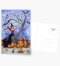The Halloween Tree Postcards