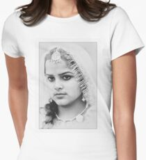 Punjabi Women's Fitted T-Shirt