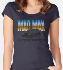 MAD MAX - INTERCEPTOR (MIRROR) Women's Fitted Scoop T-Shirt
