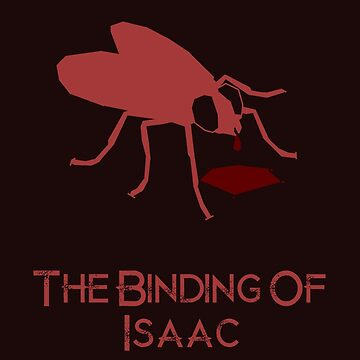The Binding Of Isaac minimalist poster by Dinnershark