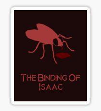 The Binding Of Isaac minimalist poster Sticker