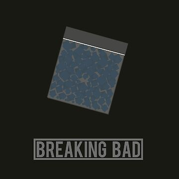 Breaking Bad minimalist poster by Dinnershark