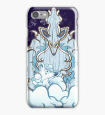 Wolf God Tiki iPhone Case/Skin