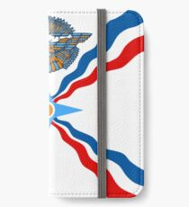 Assyrian Flag iPhone Wallet/Case/Skin