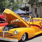 Yellow Chevy by WeeZie