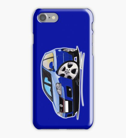 VW Golf (Mk5) GTi Blue iPhone Case/Skin