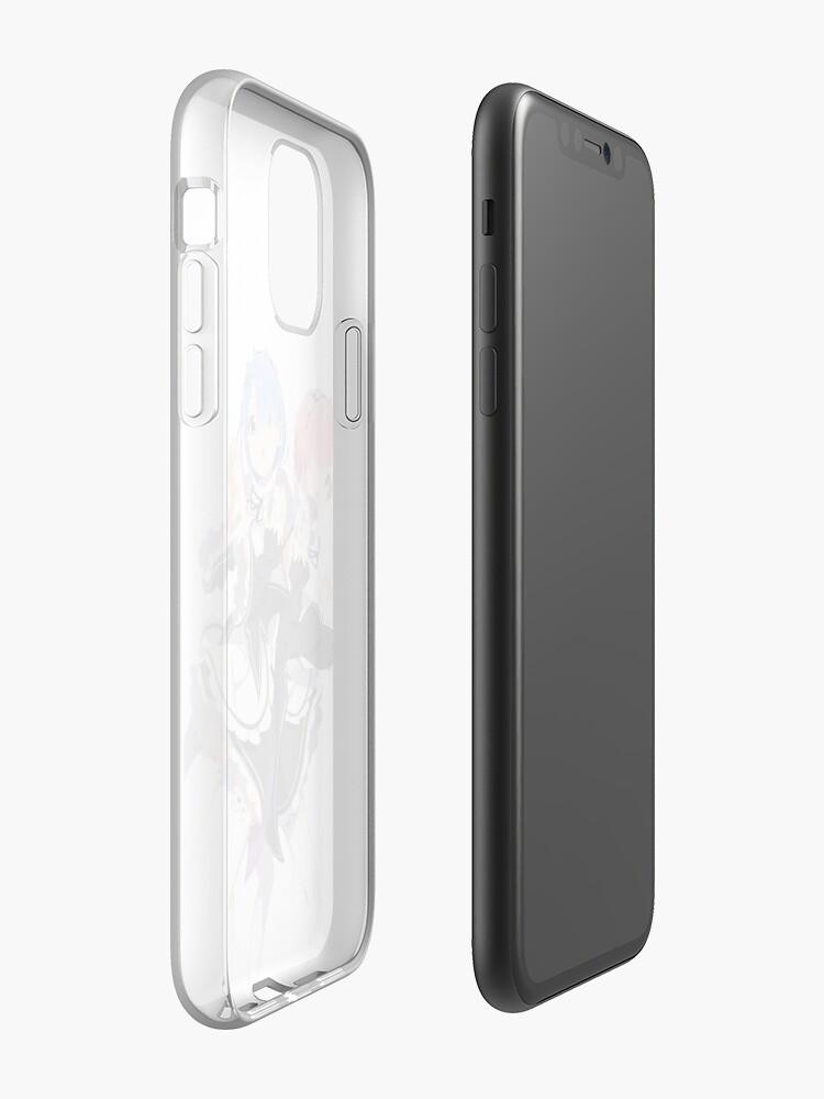 Zero kara Hajimeru Isekai Seikatsu Rem iphone case