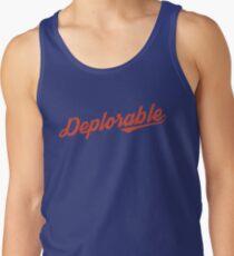 Deplorable Script Tank Top