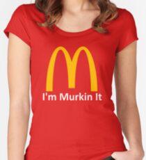 I'm Murkin it  Women's Fitted Scoop T-Shirt