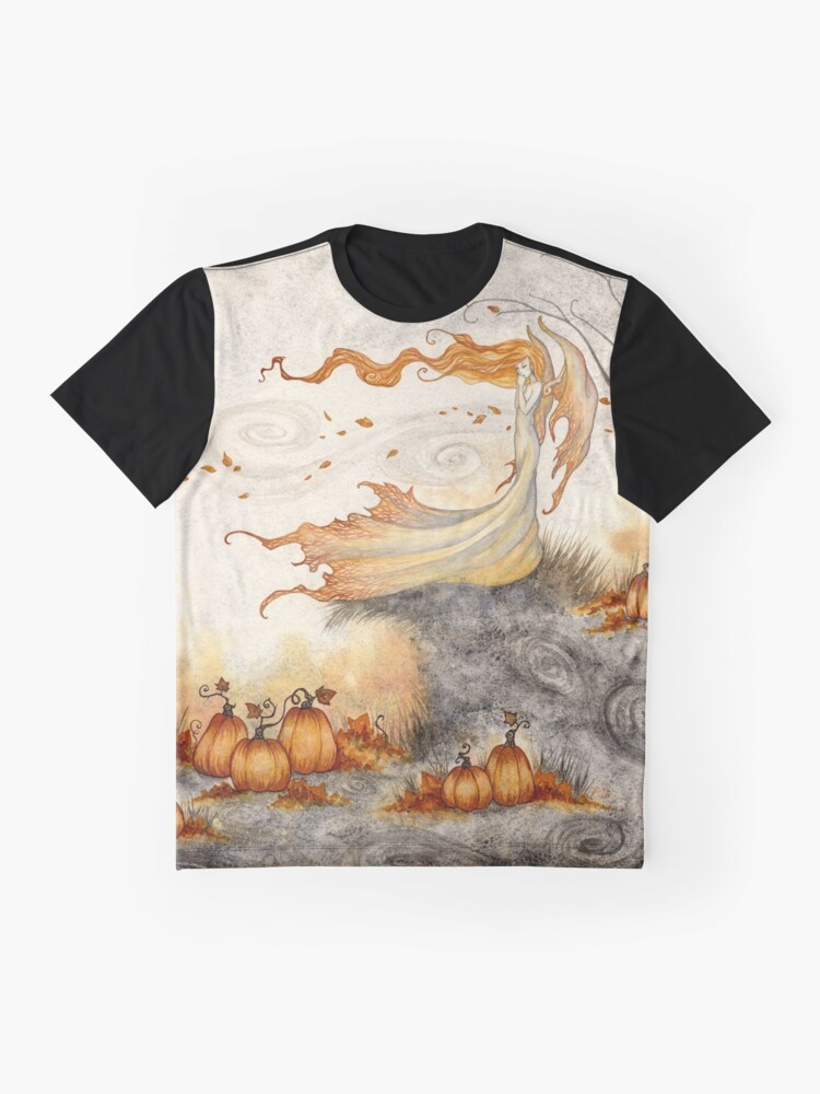 Alternate view of Whispers in the Pumpkin Patch Graphic T-Shirt