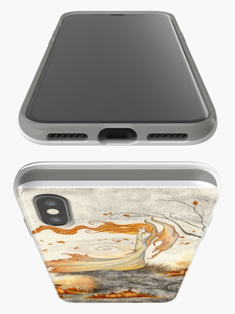 Alternate view of Whispers in the Pumpkin Patch iPhone Case & Cover