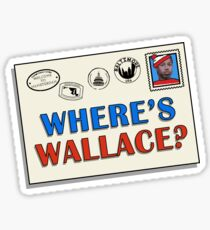 Where's Wallace? (The Wire) Sticker