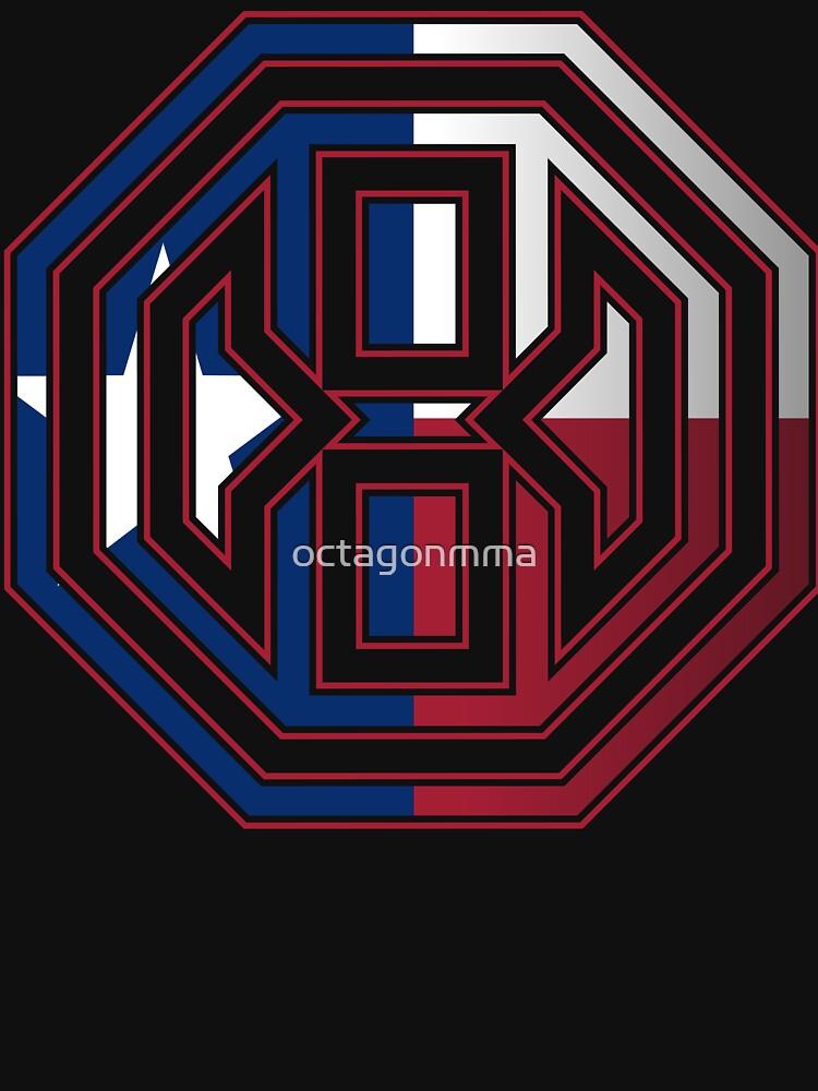 Octagon MMA Texas Logo de octagonmma
