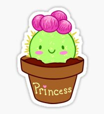 Prickly Princess  Sticker