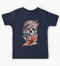 Birds, butterfly and Sugar Skull Kids Clothes